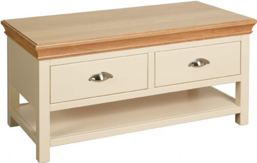 Tatton Coffee Table with Drawers